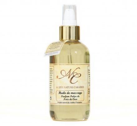 Découvrez l'huile de massage naturelle proposée par Bien-Être Ethic